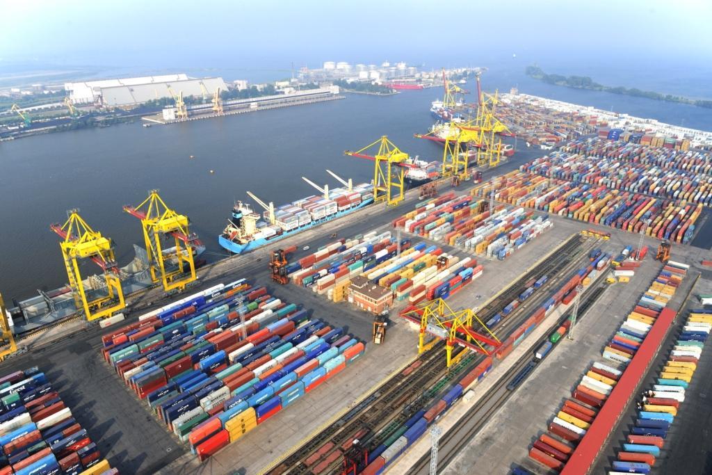 контейнерный терминал
